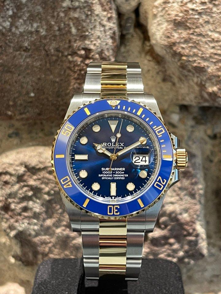 Rolex Submariner Date 126613lb 2021 neu