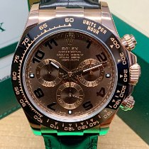 Rolex Daytona Rose gold 40mm Brown Arabic numerals United Kingdom, Wilmslow