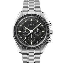 Omega Speedmaster Professional Moonwatch nuovo 2021 Manuale Cronografo Orologio con scatola e documenti originali 310.30.42.50.01.002
