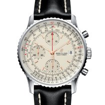 Breitling A13324121G1X4 Steel Navitimer Heritage 41mm new
