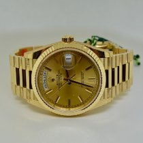Rolex Day-Date 36 Yellow gold 36mm Champagne No numerals United States of America, New York, Massapequa