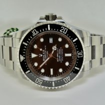 Rolex Sea-Dweller Deepsea Steel 44mm Black No numerals United States of America, New York, Massapequa
