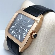 Cartier W2020068 Rose gold Santos Dumont 38mm pre-owned