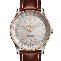 Breitling U17326211G1P2 Gold/Steel Navitimer 41mm new