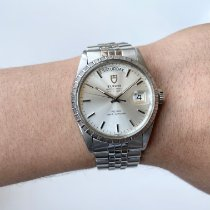 Tudor Prince Date Steel 36mm Silver No numerals United States of America, Ohio, Cleveland