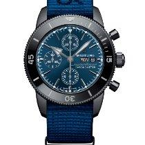 Breitling Superocean Heritage Chronograph Steel 44mm Blue No numerals