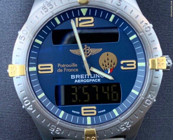 Breitling Aerospace 10  0986  /  1953      F56062 tweedehands