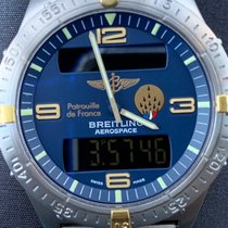 Breitling Aerospace Gold/Steel Blue Arabic numerals United States of America, California, Oceanside