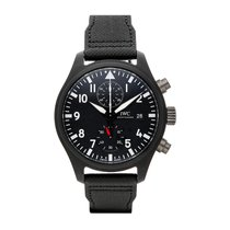 IWC Pilot Chronograph Top Gun Steel 44mm Black United States of America, Pennsylvania, Bala Cynwyd