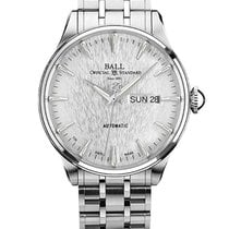 Ball Trainmaster Eternity Steel 39.5mm Silver No numerals United States of America, New Jersey, River Edge