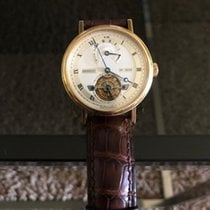 Breguet Classique Complications Yellow gold 39mm Silver Roman numerals