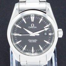 Omega Seamaster Aqua Terra Сталь 36mm Черный