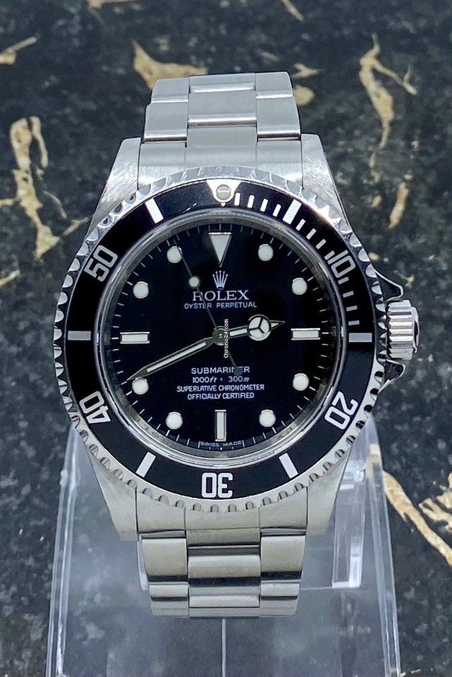 Rolex Submariner (No Date) 14060M 2010 подержанные