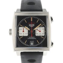TAG Heuer Monaco Calibre 11 Steel 40mm Black