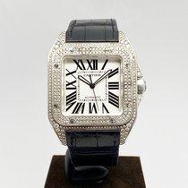 Cartier Santos 100 W20073X8 Zeer goed Staal Automatisch