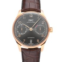 IWC Red gold Automatic Grey 42.3mm new Portuguese Automatic