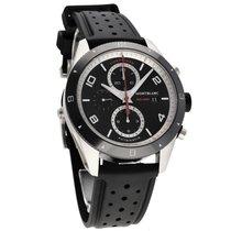 Montblanc Steel Automatic Black Arabic numerals 43mm new Timewalker