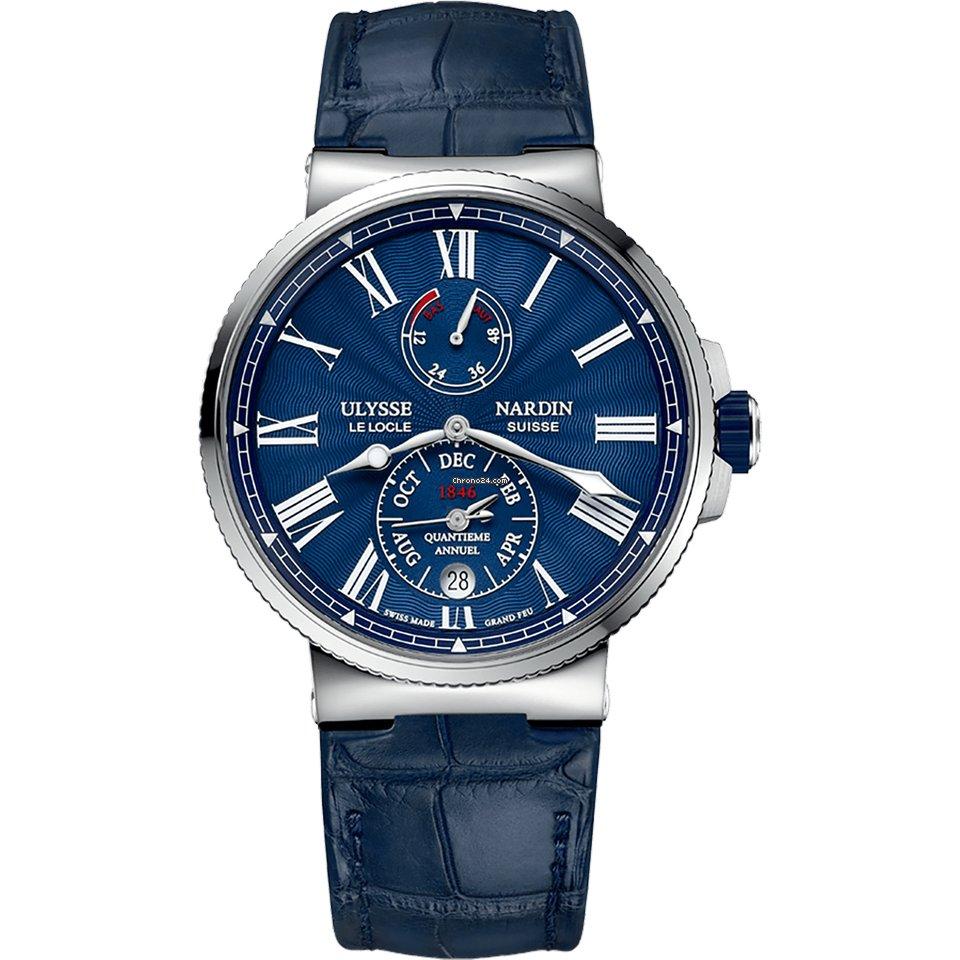 Ulysse Nardin Marine Chronometer 43mm 1133-210/E3 2021 new