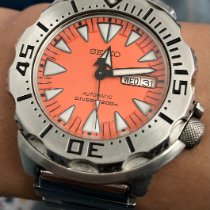 Seiko Monster Stahl Orange