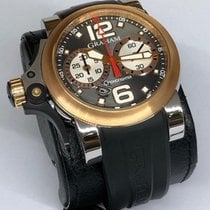 Graham Chronofighter R.A.C. new Automatic Chronograph Watch with original box and original papers 2TRAG.B04A.C71B