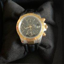 Tudor Tiger Prince Date Gold/Steel 40mm Black No numerals