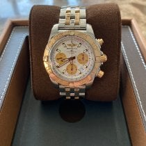 Breitling Chronomat 41 Gold/Steel 41mm Silver No numerals United States of America, New York, Long Island City