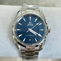 Omega Seamaster Aqua Terra Steel 38mm Blue No numerals United States of America, New York, NY