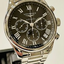 Longines Master Collection Acero 42mm Negro