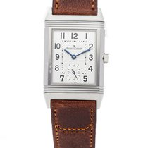 Jaeger-LeCoultre Reverso Classic Small Stahl 42.9mm Silber Arabisch
