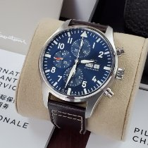 IWC Pilot Chronograph new 2020 Automatic Chronograph Watch with original box and original papers IW377717