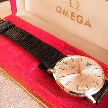 Omega Gult gull 34mm Manuelt Geneve brukt