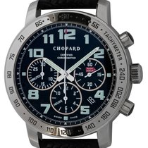 Chopard Mille Miglia pre-owned 40mm Black Chronograph Date Tachymeter Rubber