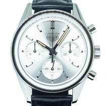 TAG Heuer Carrera Steel 39mm Silver No numerals Singapore