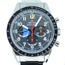 Omega Speedmaster Professional Moonwatch Steel 39.7mm Grey Arabic numerals Singapore