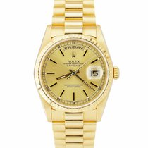 Rolex Yellow gold Day-Date 36 36mm pre-owned United States of America, New York, Massapequa Park