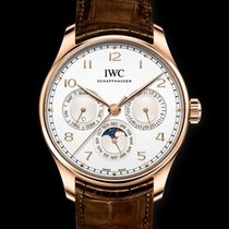 IWC Portuguese Perpetual Calendar Red gold White United States of America, New York, New York