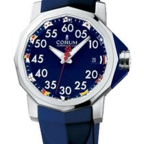 Corum Admiral's Cup Competition 40 usados 40mm Azul Caucho