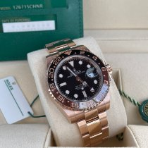 Rolex 126715CHNR Rose gold 2020 GMT-Master II 40mm pre-owned