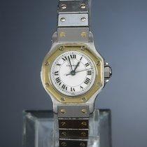 Cartier Santos (submodel) 29662 Zeer goed Goud/Staal 24mm Quartz Nederland, 'S-Hertogenbosch