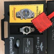 Breitling Emergency Titan 43mm Schwarz Arabisch