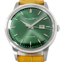 IWC Ingenieur Jumbo Steel 36mm Green United States of America, Utah, Draper
