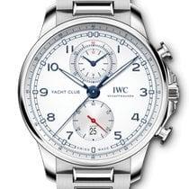 IWC Portuguese Yacht Club Chronograph Steel White Arabic numerals United States of America, New York, New York