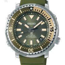 Seiko Prospex Steel 43.2mm Green No numerals