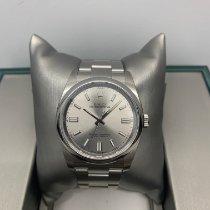 Rolex Oyster Perpetual 36 Steel 36mm Grey Arabic numerals Malaysia