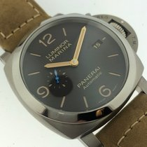 Panerai Luminor Marina 1950 3 Days Automatic Titanium 44mm Brown Arabic numerals United States of America, California, Beverly Hills