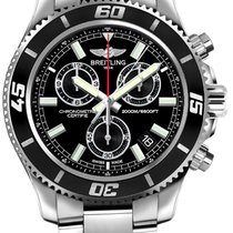 Breitling Superocean Chronograph M2000 Steel Black
