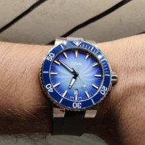 Oris Aquis Date 01 733 7730 4175-Set Very good Steel 43.5mm Automatic India, Mumbai
