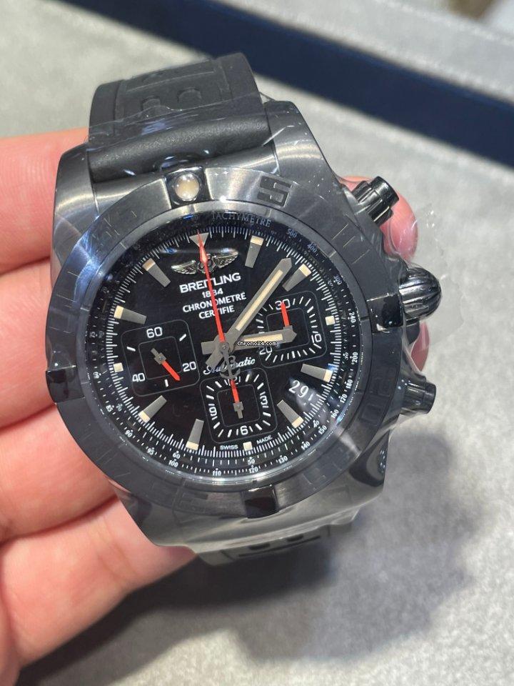 Breitling Chronomat 44 Blacksteel MB0111C3/BE35/253S 2021 new