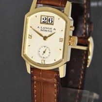 A. Lange & Söhne Damenuhr 22mm Handaufzug gebraucht Uhr mit Original-Papieren 2000