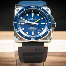 Bell & Ross BR 03-92 Steel Steel 42mm Blue No numerals United States of America, Arizona, Mesa